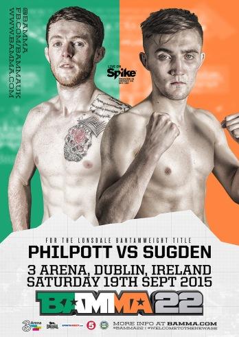 B22_Philpott vs Sugden_Poster_small